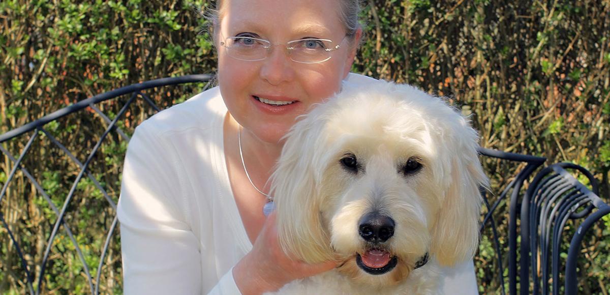 Bild von Claudia Kordt-Reichert mit Hund